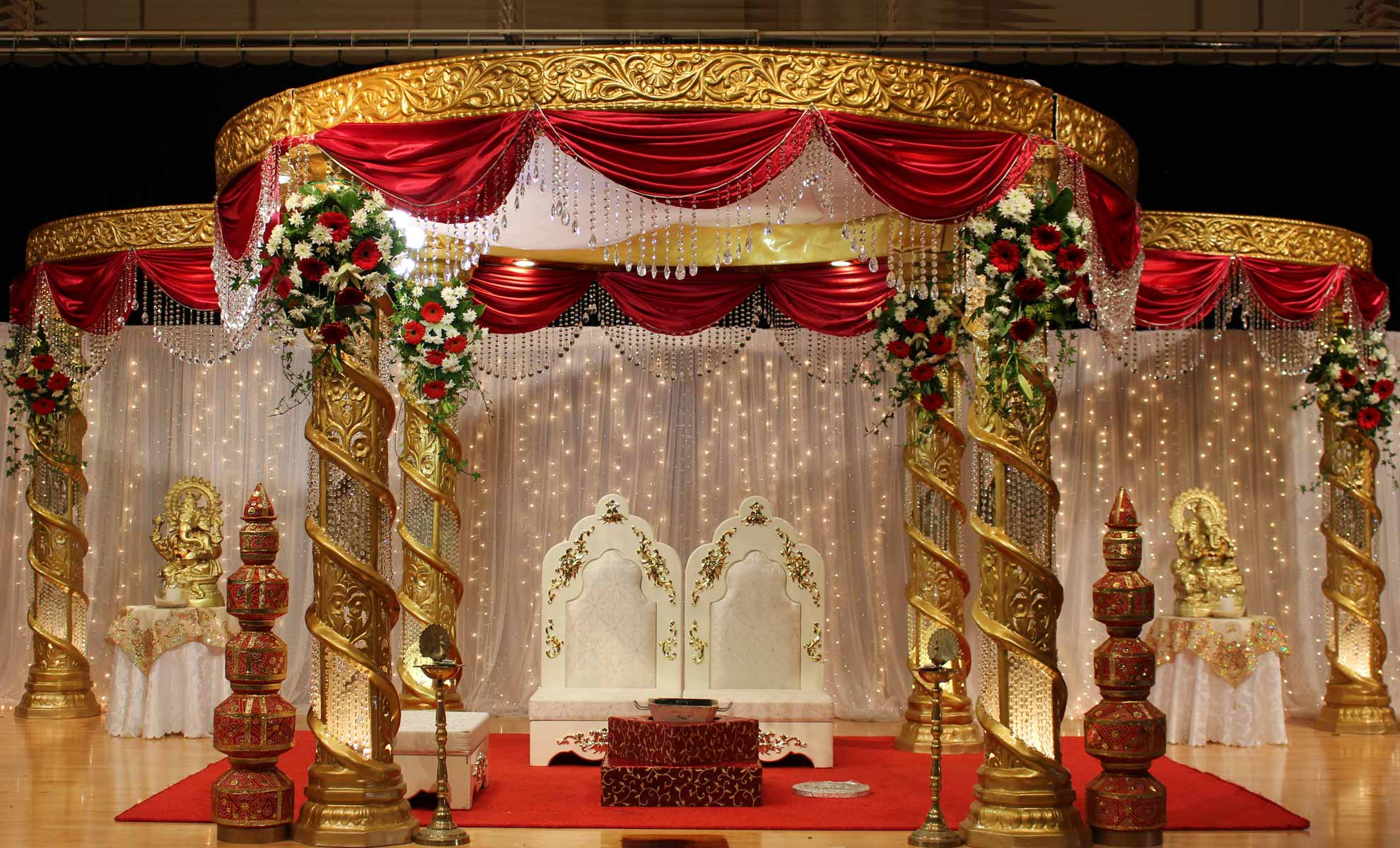Ranis mandap auckland weddings events decoration hire ranis mandap beautiful and affordable wedding and event decorators junglespirit Images